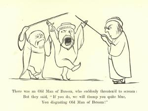 There Was an Old Man of Ibreem, Who Suddenly Threaten'D to Scream by Edward Lear