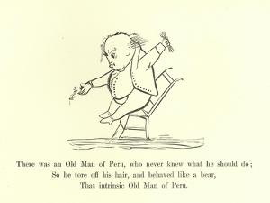 There Was an Old Man of Peru, Who Never Knew What He Should Do by Edward Lear