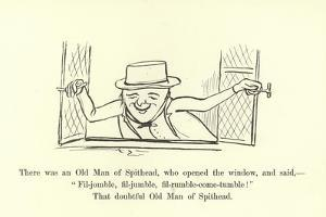 There Was an Old Man of Spithead by Edward Lear