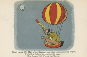 There Was an Old Man of the Hague, Whose Ideas Were Excessively Vague by Edward Lear