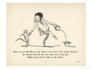 There was an Old Man on the Border Who Lived in the Utmost Disorder by Edward Lear