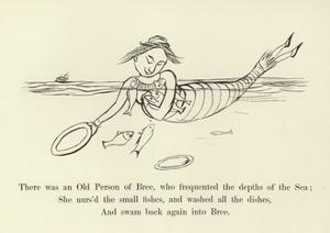 There Was an Old Person of Bree, Who Frequented the Depths of the Sea by Edward Lear