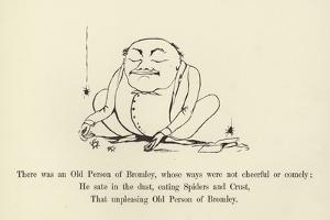 There Was an Old Person of Bromley, Whose Ways Were Not Cheerful or Comely by Edward Lear