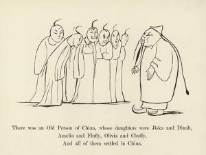 There Was an Old Person of China, Whose Daughters Were Jiska and Dinah by Edward Lear