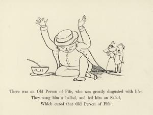 There Was an Old Person of Fife, Who Was Greatly Disgusted with Life by Edward Lear