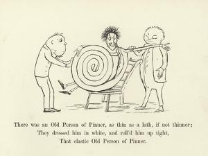 There Was an Old Person of Pinner, as Thin as a Lath, If Not Thinner by Edward Lear