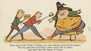 There Was an Old Person of Prague, Who Was Suddenly Seized with the Plague by Edward Lear