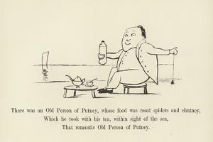 There Was an Old Person of Putney, Whose Food Was Roast Spiders and Chutney by Edward Lear