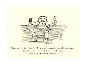There Was an Old Person of Sheen, Whose Expression Was Calm and Serene by Edward Lear