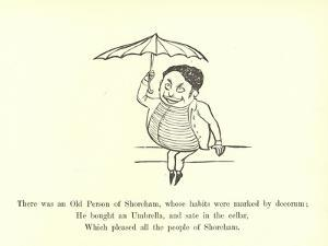 There Was an Old Person of Shoreham, Whose Habits Were Marked by Decorum by Edward Lear