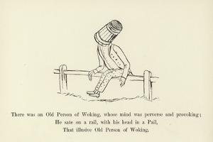 There Was an Old Person of Woking, Whose Mind Was Perverse and Provoking by Edward Lear
