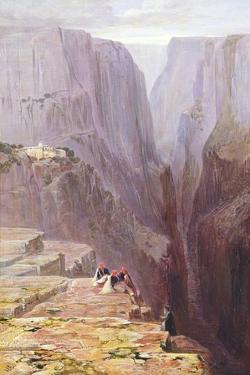 Zagori, Greece, 1860 by Edward Lear