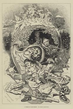 A Dream of Plum-Pudding by Edward Linley Sambourne