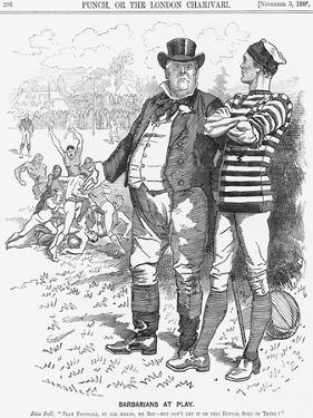 Barbarians at Play, 1888 by Edward Linley Sambourne