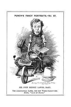 John Bennett Lawes, English Agriculturalist, 1882 by Edward Linley Sambourne