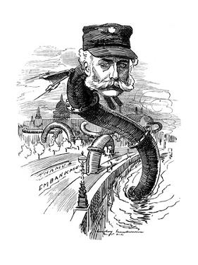 Joseph Bazalgette (1819-189), English Civil Engineer, 1883 by Edward Linley Sambourne