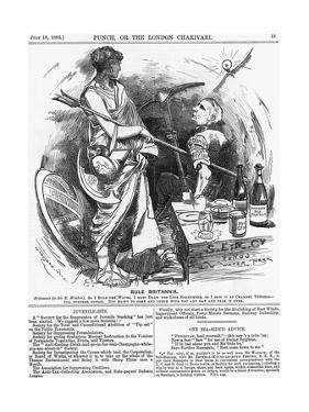 Rule Britannia, 1882 by Edward Linley Sambourne