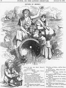 Sisters of Mersey, 1886 by Edward Linley Sambourne