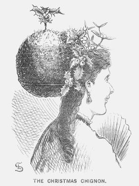 The Christmas Chignon, 1867 by Edward Linley Sambourne