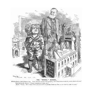 The Model School, 1882 by Edward Linley Sambourne