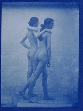Two Models Embracing, 1904 by Edward Linley Sambourne