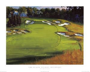 18th Hole Beth Page by Edward Martinez