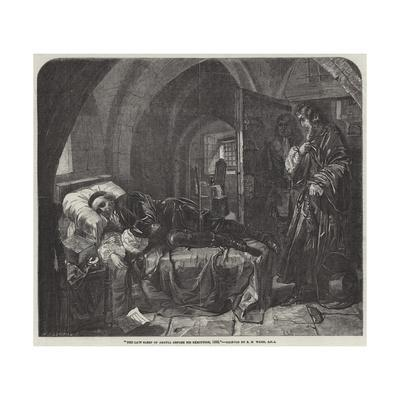 The Last Sleep of Argyll before His Execution, 1685
