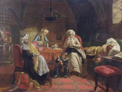 The Royal Family of France in the Temple
