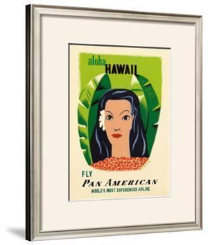 Aloha Hawaii by Edward McKnight Kauffer