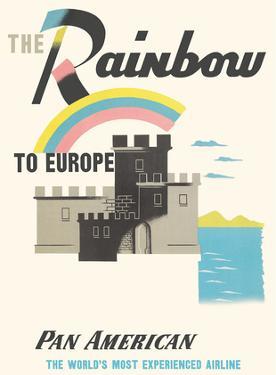 The Rainbow to Europe - Pan American World Airways by Edward McKnight Kauffer