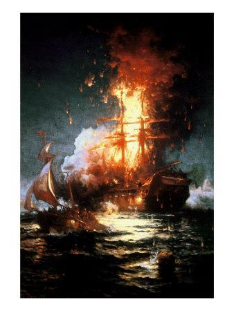 Burning of the Frigate Philadelphia