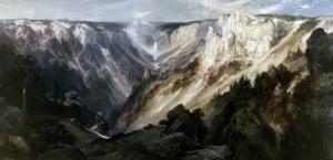 Grand Canyon at Yellowstone by Edward Moran
