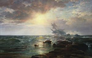 The Calm After the Storm by Edward Moran