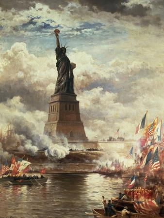 The Unveiling of the Statue of Liberty, Enlightening the World, 1886