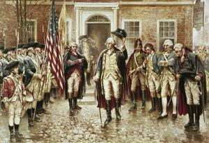 Washington's Farewell to His Officers by Edward Moran