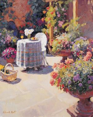 Garden Lunch and Basket by Edward Noott