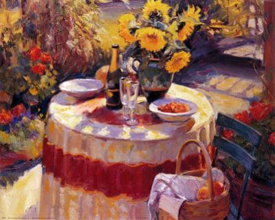 Red Table by Edward Noott