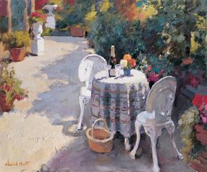 Road with Two Chairs by Edward Noott