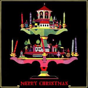 """Christmas Candelabra,""December 1, 1932 by Edward O^ Kraske"