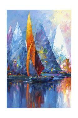 Sail Boats by Edward Park