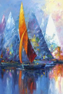 Sail Boats by Edward Park