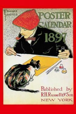1897 Poster Calendar by Edward Penfield