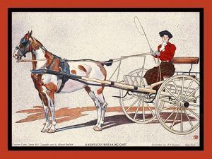 A Kentucky Breaking Cart by Edward Penfield
