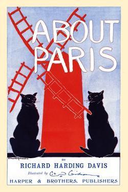 About Paris by Richard Harding Davis by Edward Penfield
