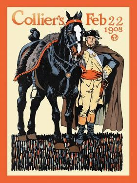 Collier's Feb 22 1908 by Edward Penfield