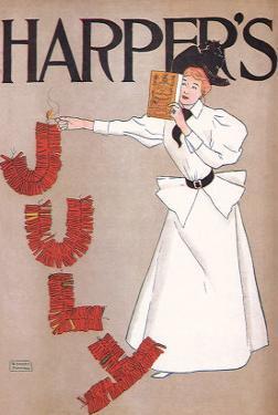 Harper's July, c.1894 by Edward Penfield