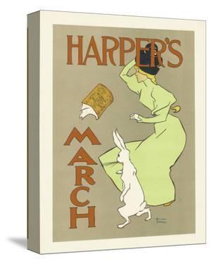 Harper's Magazine, March 1894 by Edward Penfield