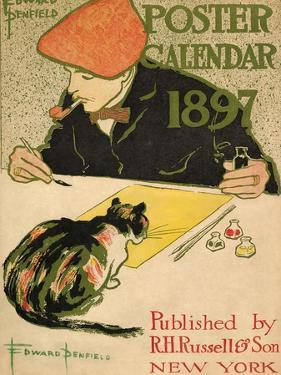 R.H. Russell & Son Calendar, 1897 by Edward Penfield