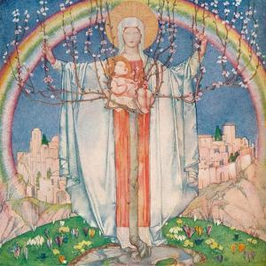 La Madonna Di Promessa, C1890-1914, (1914) by Edward Reginald Frampton