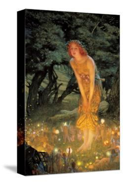 Midsummer Dream by Edward Robert Hughes